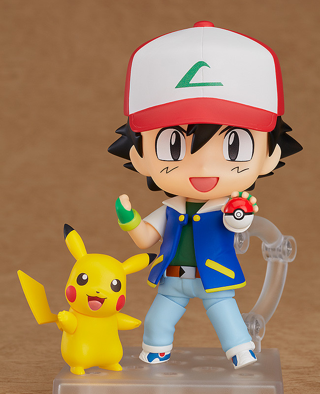 Ash and Pikachu Nendoroid