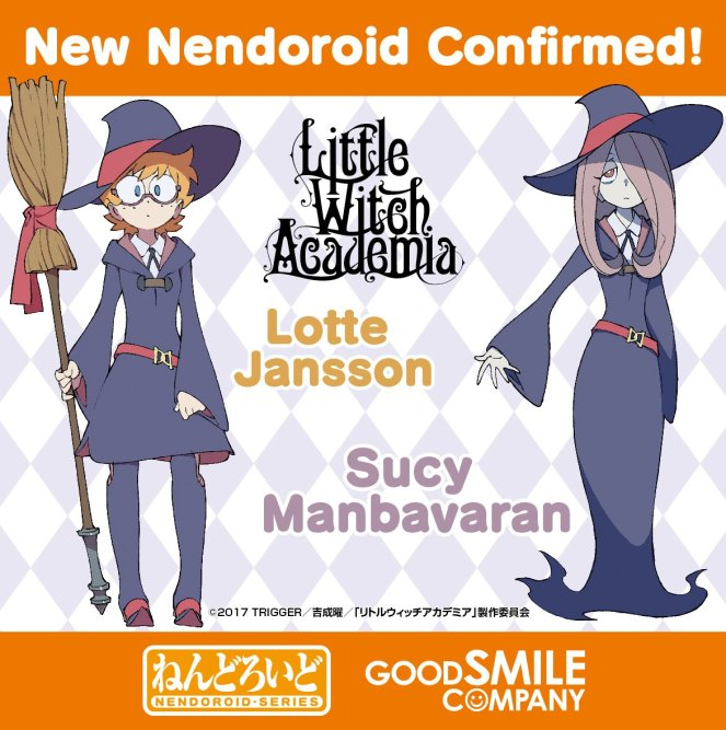 Lotte & Sucy Nendoroid Announcement
