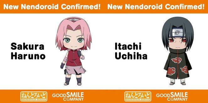 Sakura & Itachi Nendoroid Announcement
