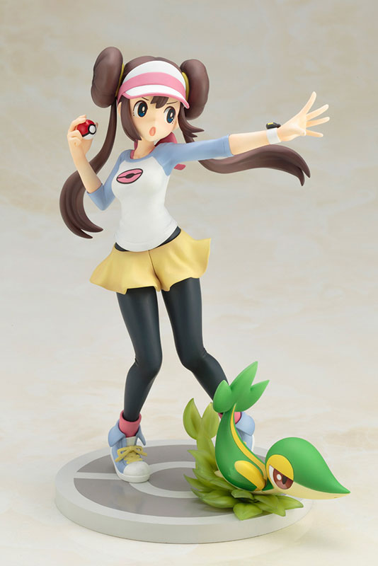 Rosa with Snivy 1/8 Scale Figure
